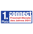 GMX FreeMail Testsieger Connect 2011