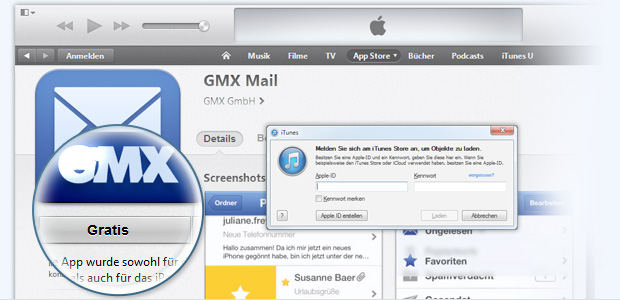 gmx anmelden gratis